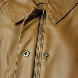 Baccini Jackets & Coats - Baccini Faux Leather Vest